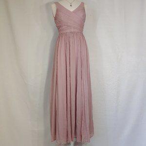 J.Crew Long Bridesmaids/Prom Dress - Size 6
